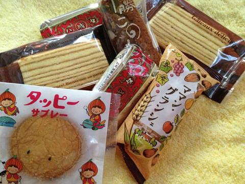 北海道のバウムクーヘンとお菓子(1)