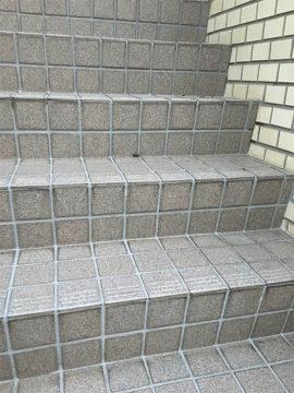 階段、洗浄後