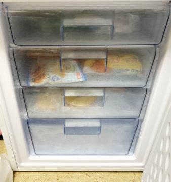 冷凍庫を使いはじめる
